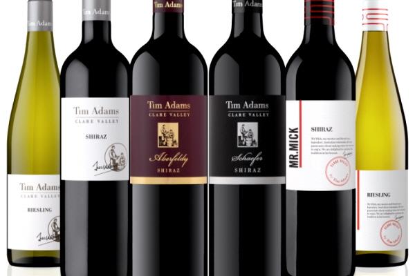 팀 아담스(Tim Adams), 클레어 밸리의 개성을 고스란히 담은 와인