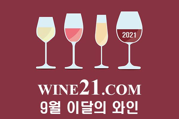 와인21닷컴이 선정한 9월 이달의 와인